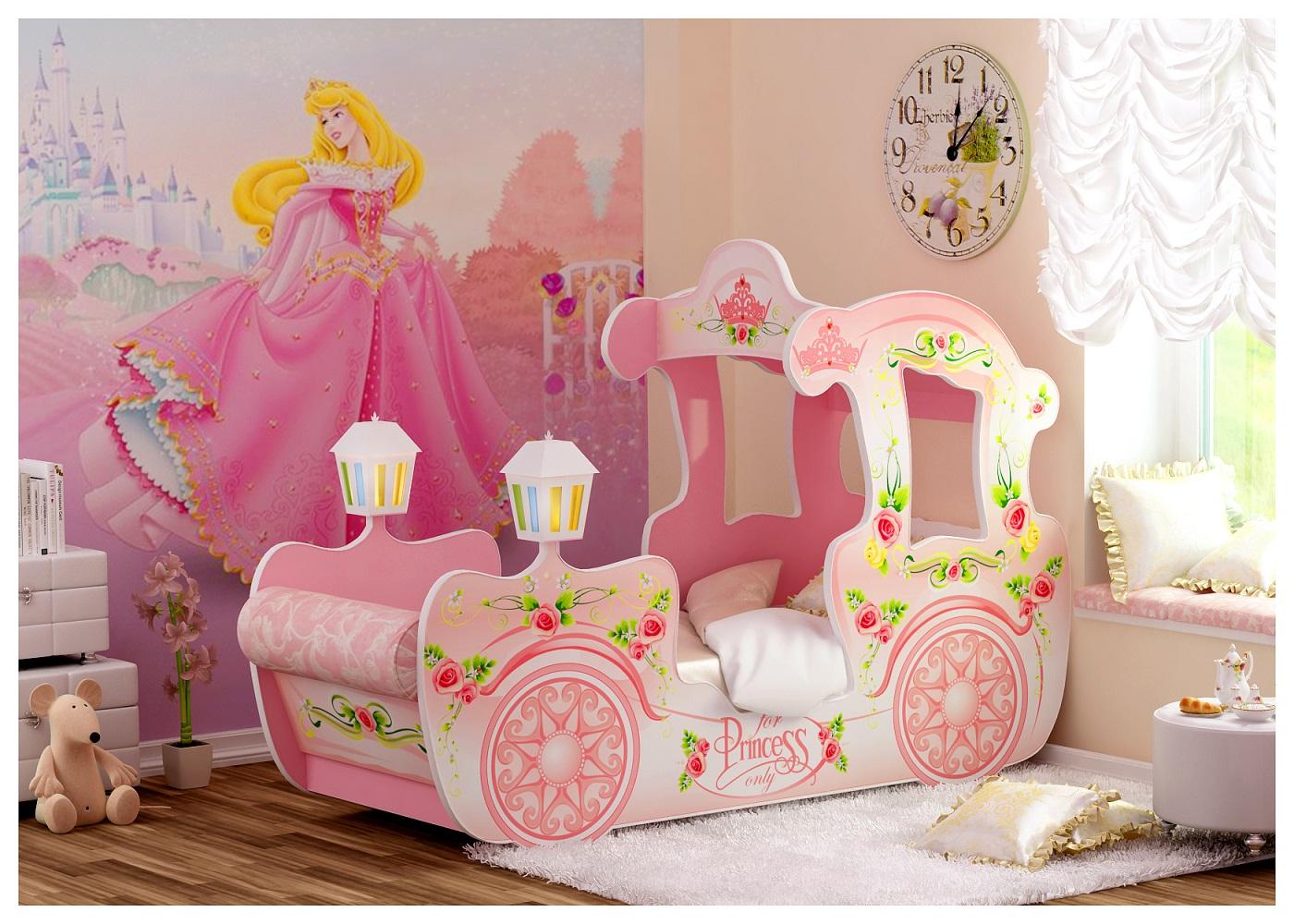 Кровати для девочек