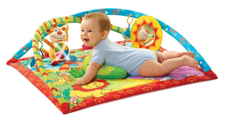 Коврики развивающие для малышей