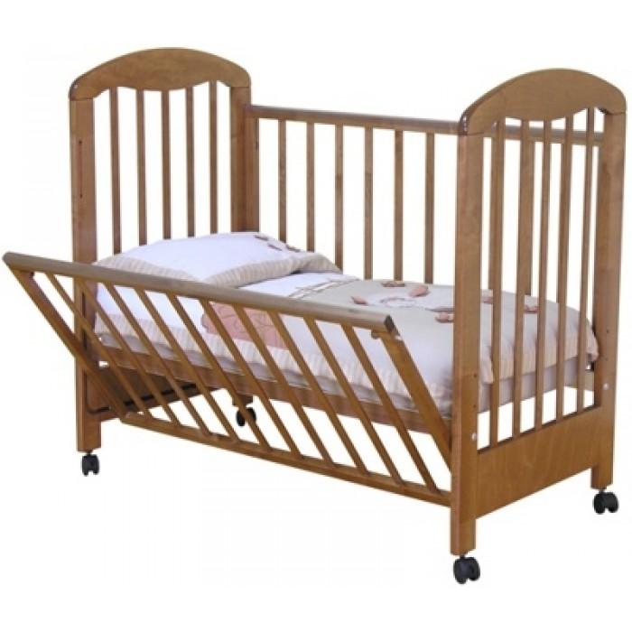 Съемная передняя стенка детской кроватки