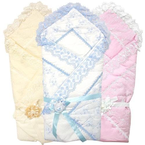 Сшить детское одеяло синтепоне на выписку