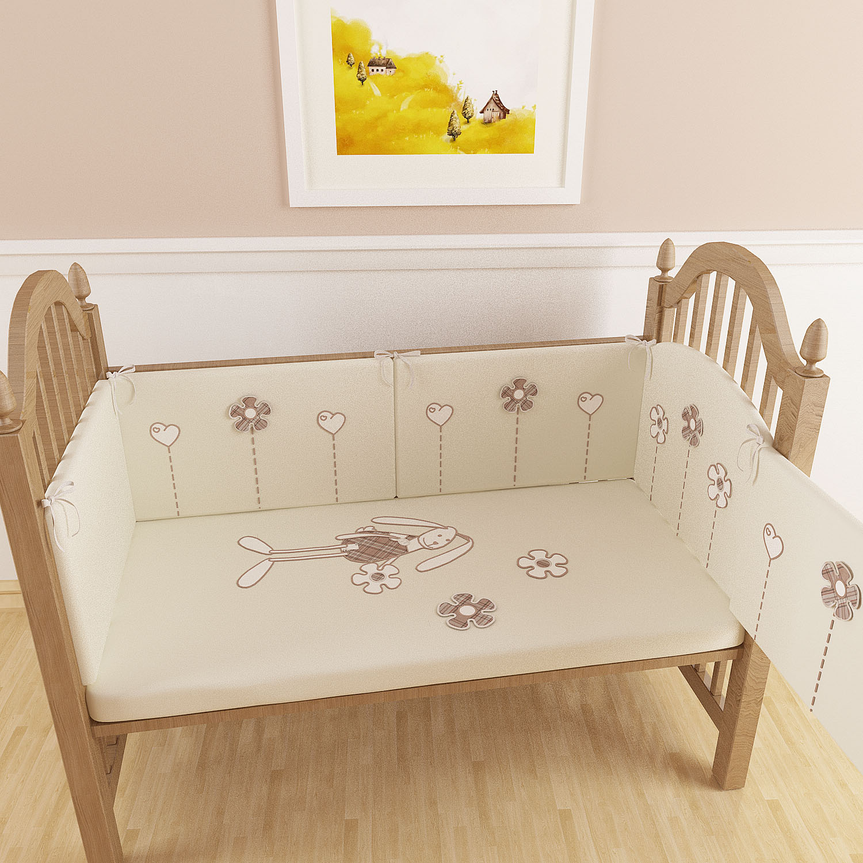 Бампер для новорожденных в кроватку